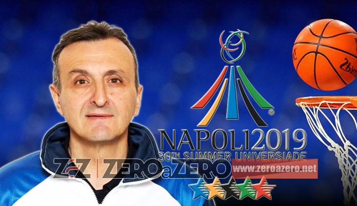 Andrea Paccariè ct Nazionale Italiana pallacanestro basket Universiadi