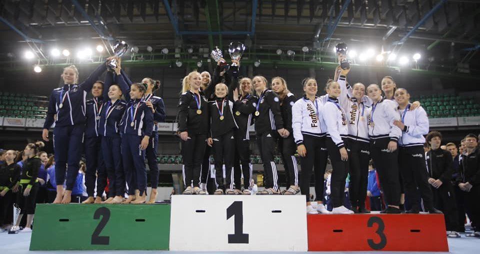 Ginnastica Salerno donne