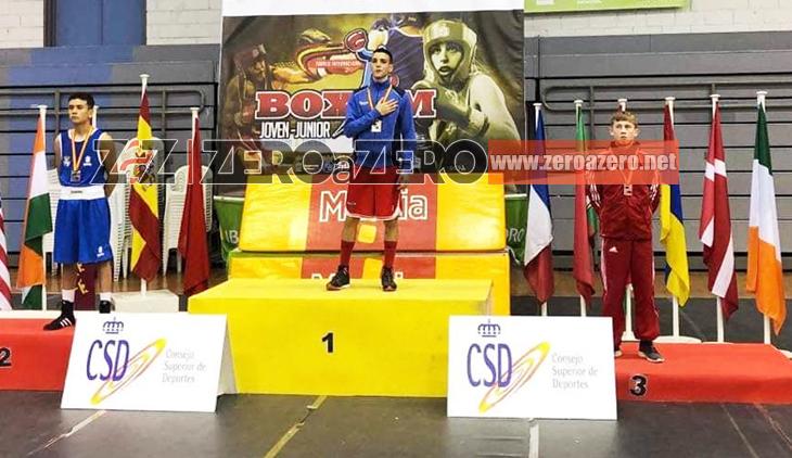 Giuseppe Vitolo boxe Boxam oro