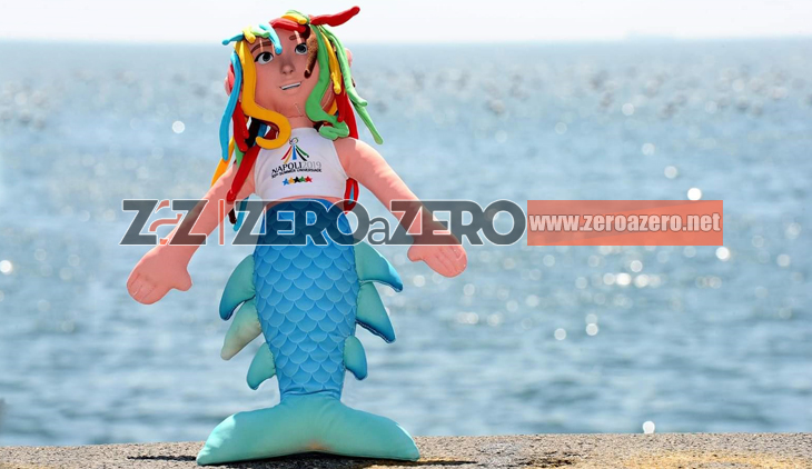 mascotte Universiadi Universiade Napoli 2019