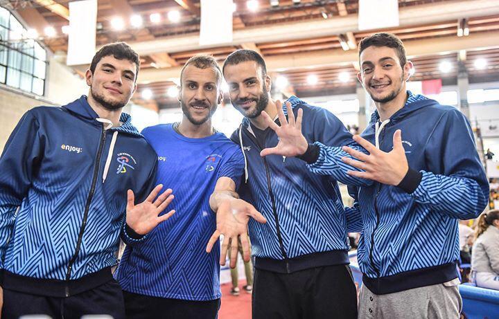 Fioretto maschile Salerno Coppa Italia