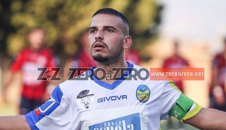 Lino Siciliano capitano Scafatese