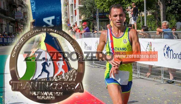 Pasquale Iapicco Campione Italiano mezza maratona 2019 Trani