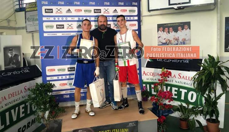 Giuseppe Vitolo boxe Campione Italiano 2019