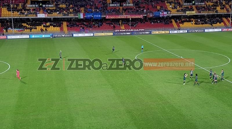 Italia Georgia stadio Vigorito Benevento qualificazioni Euro 2021