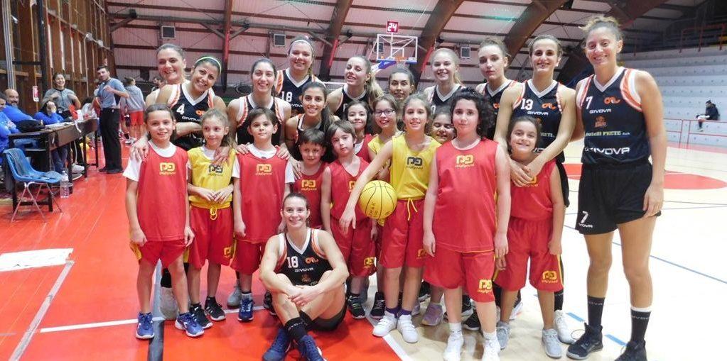 Potenza Givova Ladies Scafati Free Basketball Sapienza