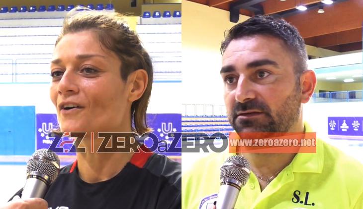 Futsal Nuceria Atletic Club Taranto interviste Tirozzi Latartara